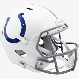 Indianapolis Colts 2020 Riddell Full Size Replica Speed Helmet