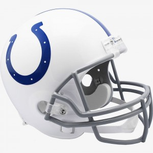 Indianapolis Colts 2020 Riddell Replica Full Size Vsr4 Helmet