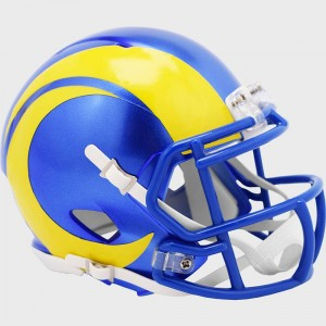 Los Angeles Rams Riddell Mini Speed Helmet