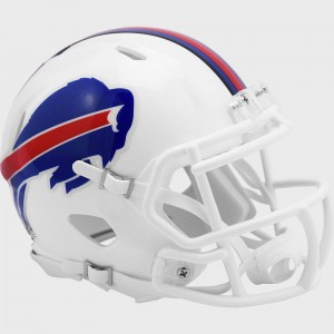 Buffalo Bills Riddell Mini Speed Helmet New 2021
