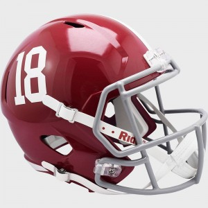 Riddell NCAA Alabama Crimson Tide #17 Replica Speed Full Size Football Helmet