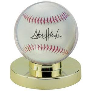 Gold Baseball Holder