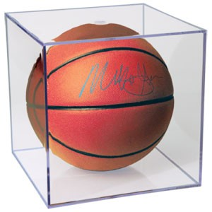 Square Full Size Basketball Holder