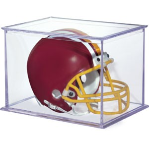 Rectangle Mini Football Helmet Holder