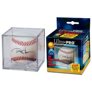 UV Protected Square Baseball Holder