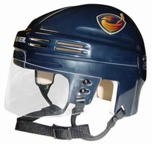 Atlanta Thrashers Home Authentic Mini Helmet