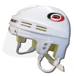 Carolina Hurricanes Away Authentic Mini Helmet