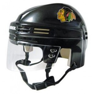 Chicago Blackhawks Home Authentic Mini Helmet