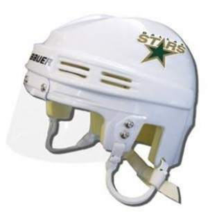Dallas Stars Away Authentic Mini Helmet