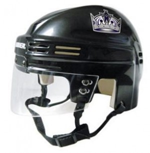 Los Angeles Kings Home Authentic Mini Helmet