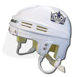 Los Angeles Kings Away Authentic Mini Helmet