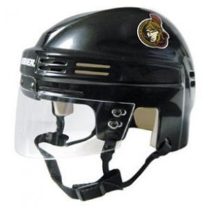 Ottawa Senators Home Authentic Mini Helmet