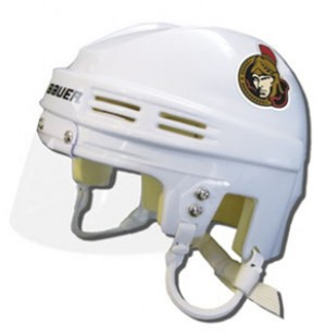 Ottawa Senators Away Authentic Mini Helmet