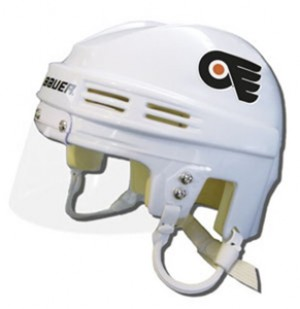 Philadelphia Flyers Away Authentic Mini Helmet