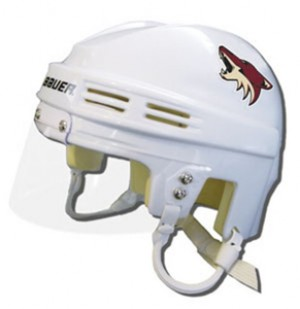 Phoenix Coyotes Away Authentic Mini Helmet