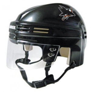 San Jose Sharks Home Authentic Mini Helmet