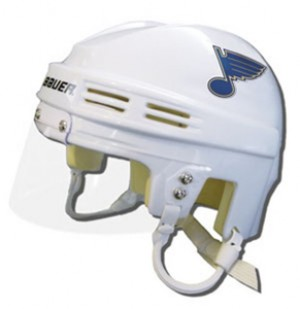 Saint Louis Blues Away Authentic Mini Helmet
