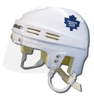 Toronto Maple Leafs Away Authentic Mini Helmet