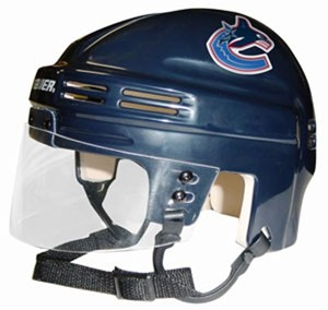 Vancouver Canucks Home Authentic Mini Helmet