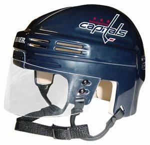 Washington Capitals Home Authentic Mini Helmet