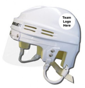Washington Capitals Away Authentic Mini Helmet