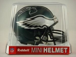 Donovan McNabb Autographed Philadelphia Eagles Replica Mini Helmet