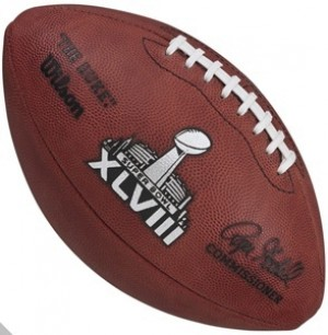 Official Super Bowl 48 XLVIII NFL Football Roger Goodell NEW 2014