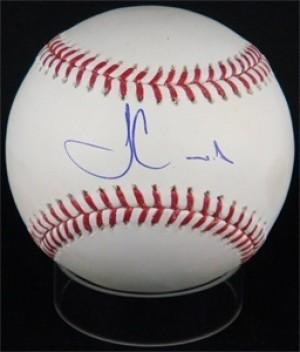 Fernando Martinez Signed Rawlings Official Major League Baseball