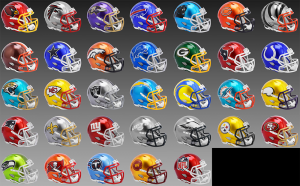 Limited Edition NFL Flash 2021 Riddell Full Size Replica Speed Helmets