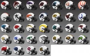 LIMITED EDITION Los Angeles Rams Lunar New 2021 Riddell Mini Speed Helmet