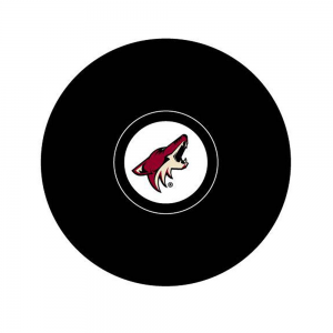 InGlasCo NHL Arizona Coyotes Autograph Souvenir Ice Hockey Puck