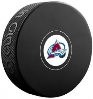 InGlasCo NHL Colorado Avalanche Autograph Souvenir Ice Hockey Puck