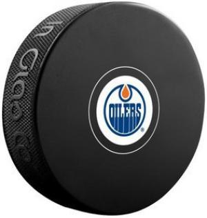 InGlasCo NHL Edmonton Oilers Autograph Souvenir Ice Hockey Puck