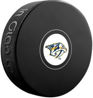InGlasCo NHL Nashville Predators Autograph Souvenir Ice Hockey Puck