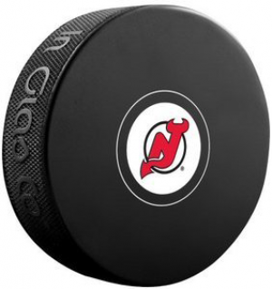 InGlasCo NHL New Jersey Devils Autograph Souvenir Ice Hockey Puck