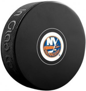 InGlasCo NHL New York Islanders Autograph Souvenir Ice Hockey Puck