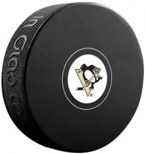 InGlasCo NHL Pittsburgh Penguins Autograph Souvenir Ice Hockey Puck