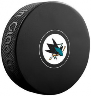 InGlasCo NHL San Jose Sharks Autograph Souvenir Ice Hockey Puck