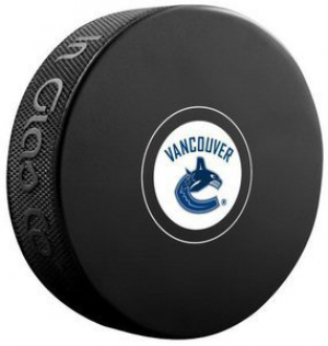InGlasCo NHL Vancouver Canucks Autograph Souvenir Ice Hockey Puck