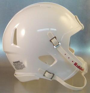 Riddell White Blank Customizable Speed Mini Football Helmet Shell