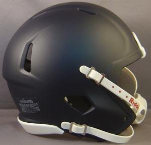 Riddell Matte Black Blank Customizable Speed Mini Football Helmet Shell