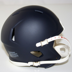 Riddell Matte Navy Blue Blank Customizable Speed Mini Football Helmet Shell