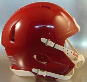 Riddell Cardinal Blank Customizable Speed Mini Football Helmet Shell