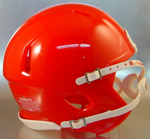 Riddell Kansas City Chiefs Red Blank Customizable Speed Mini Football Helmet Shell
