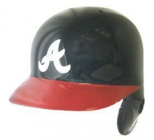 Atlanta Braves Classic Authentic Full Size Batting Helmet