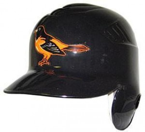 Baltimore Orioles Coolflo Throwback Authentic Full Size Batting Helmet