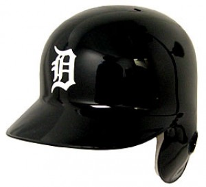 Detroit Tigers Classic Authentic Full Size Batting Helmet