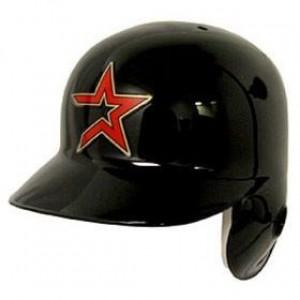 Houston Astros Classic Throwback Authentic Full Size Batting Helmet