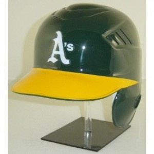 Oakland Athletics Coolflo Authentic Full Size Batting Helmet