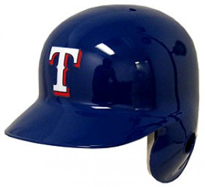 Texas Rangers Classic Authentic Full Size Batting Helmet